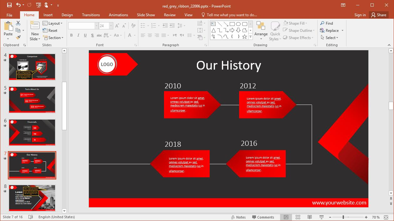 Copy Slide Template Powerpoint 2010