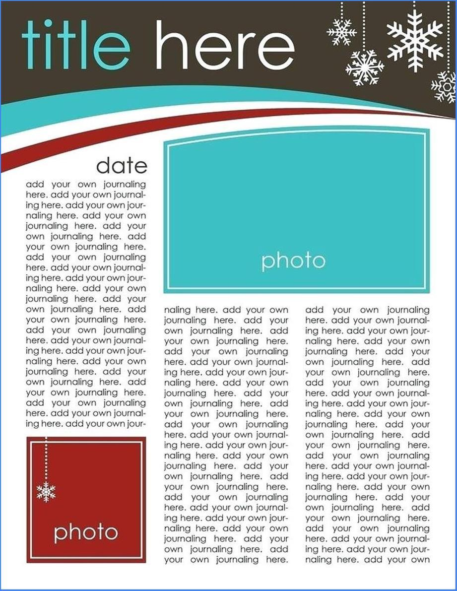 Corporate Newsletter Templates Word