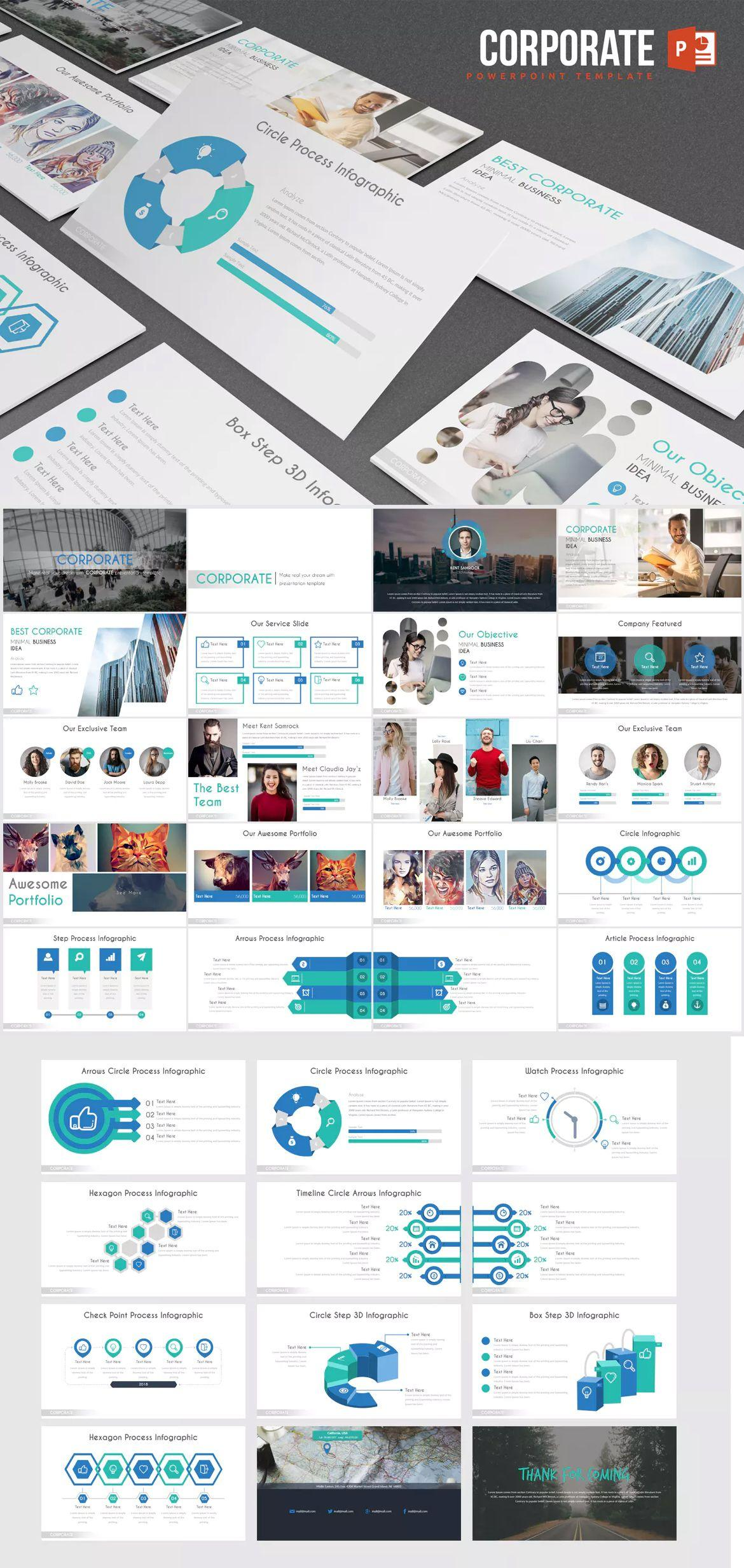 Corporate Ppt Presentation Templates