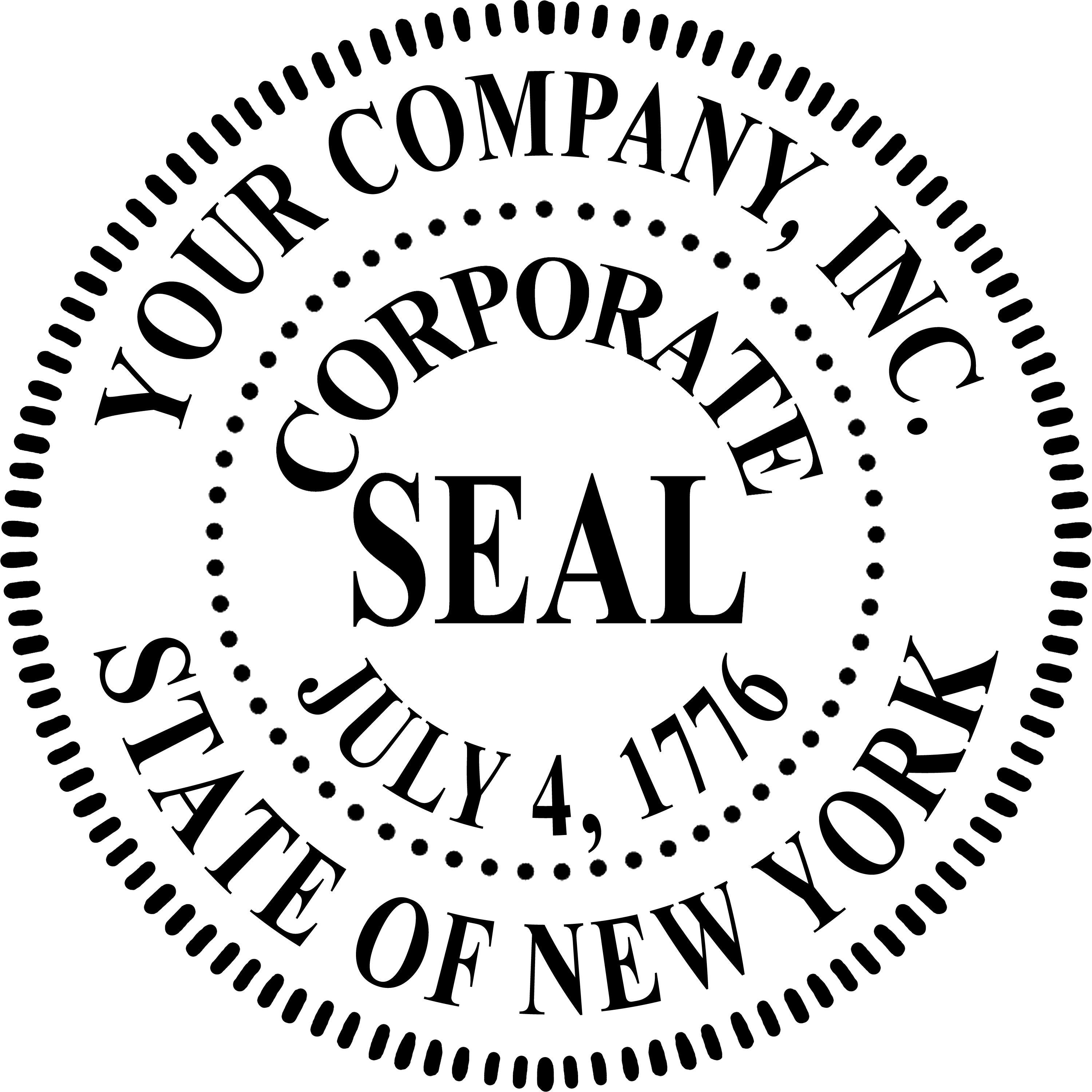 Corporate Seal Template Free