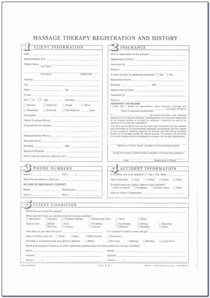 Counselling Intake Form Template Australia