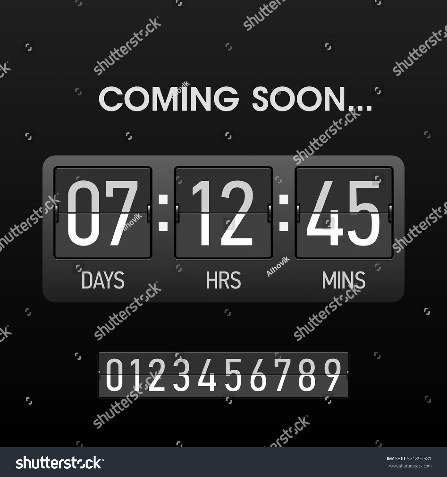 Countdown Website Template Free