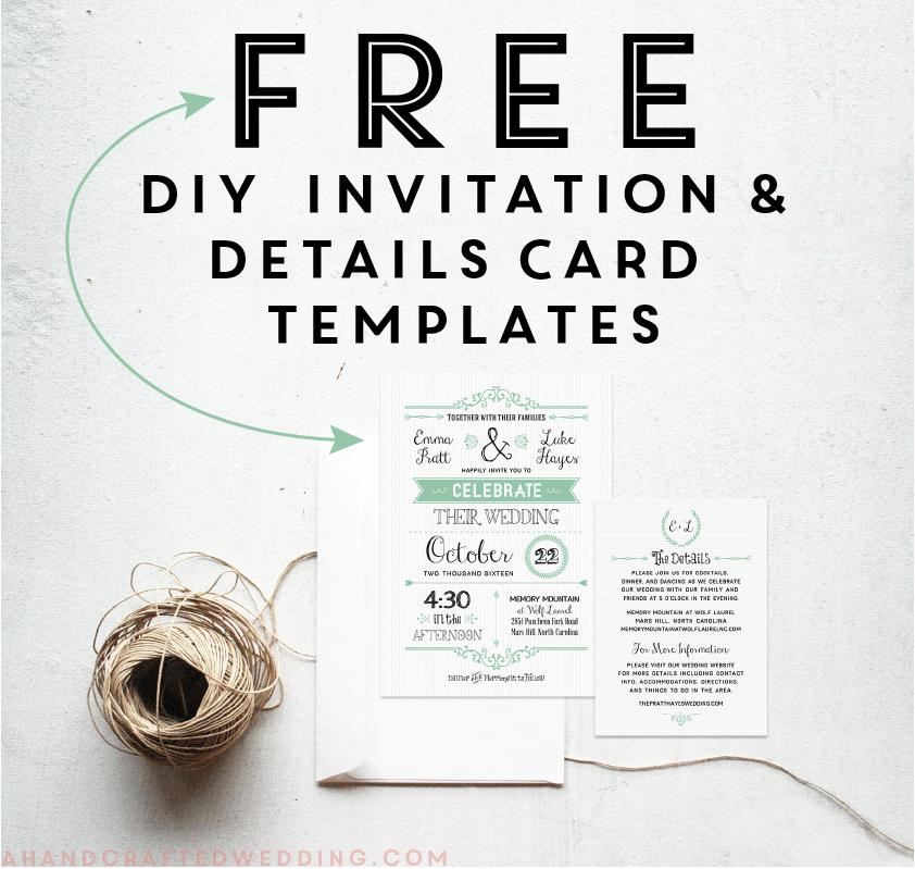 Country Invitation Templates Free