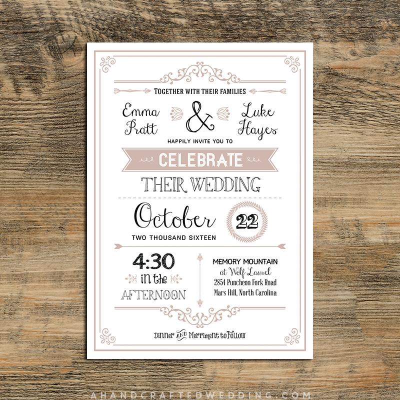 Country Invitation Templates