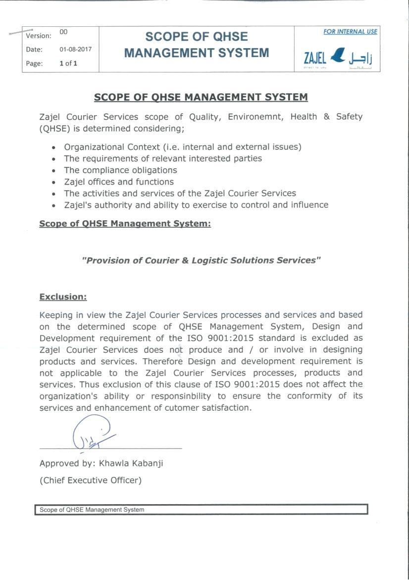 Courier Service Agreement Template