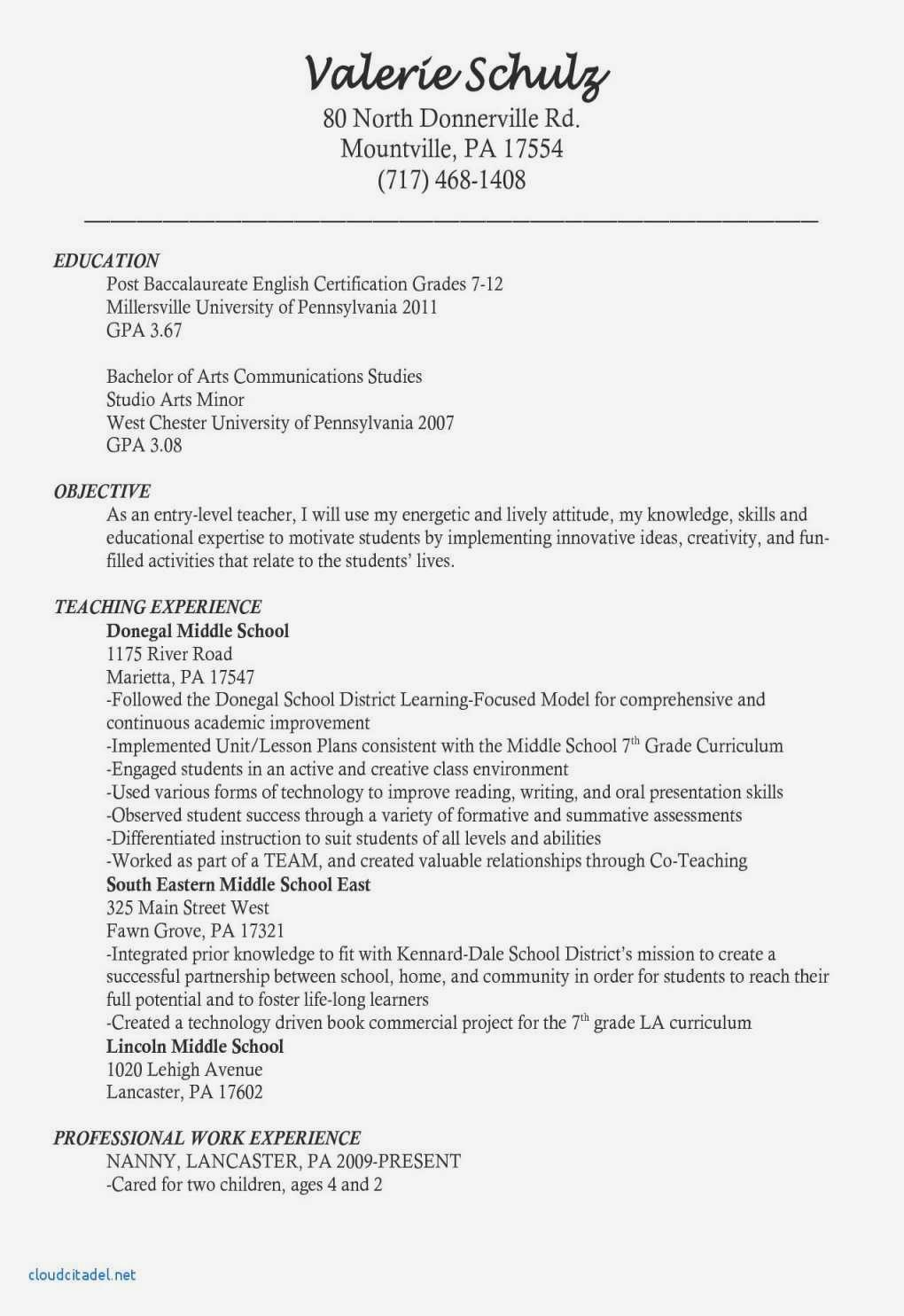 Cover Letter Teacher Templates Free