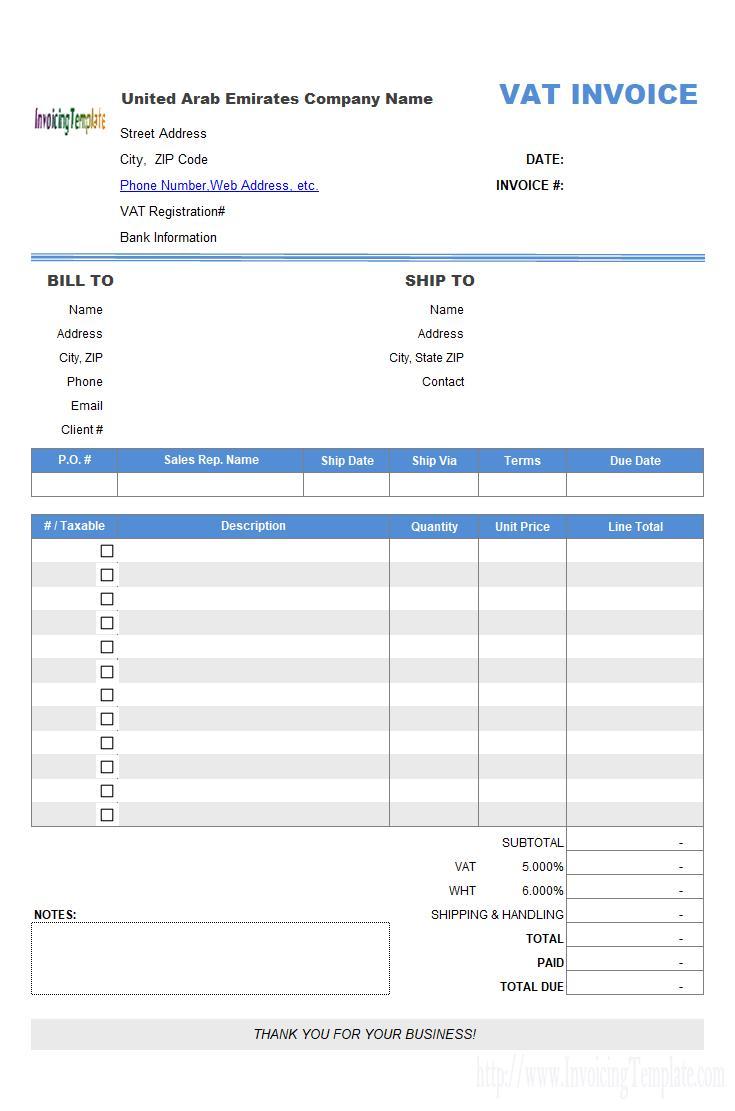 Cra Invoice Template