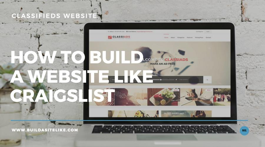 Craigslist Like Website Template