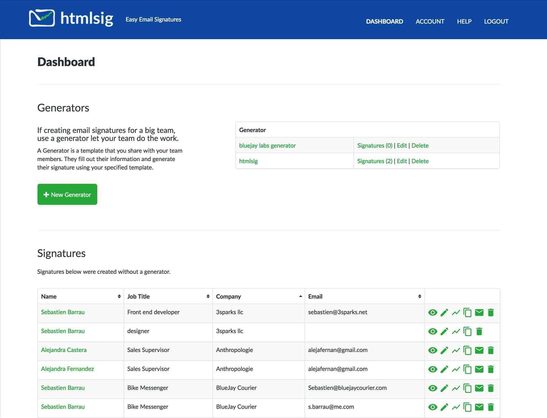Create Email Signature Templates Free