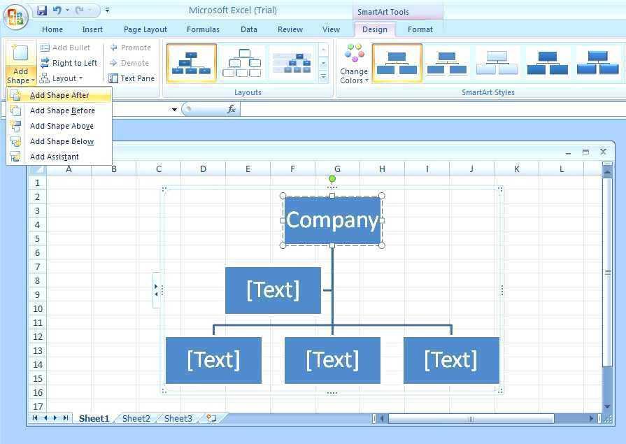 Create Org Chart Template Visio