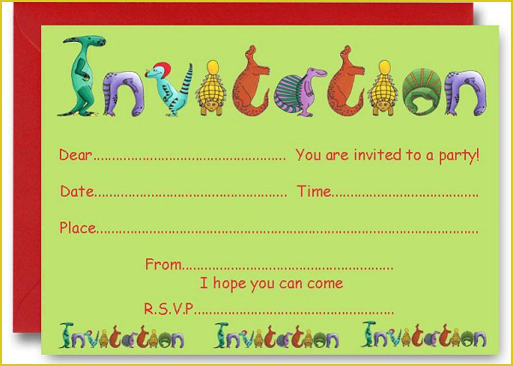 Create Your Own Invite Template
