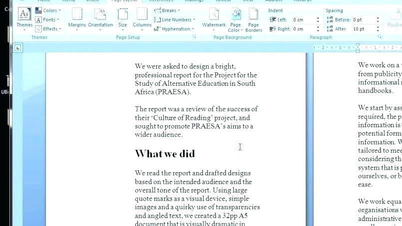Creating A Recipe Book Template