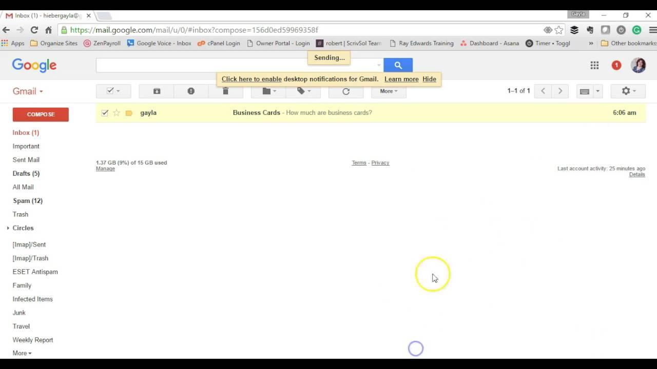 Creating Html Email Templates In Gmail