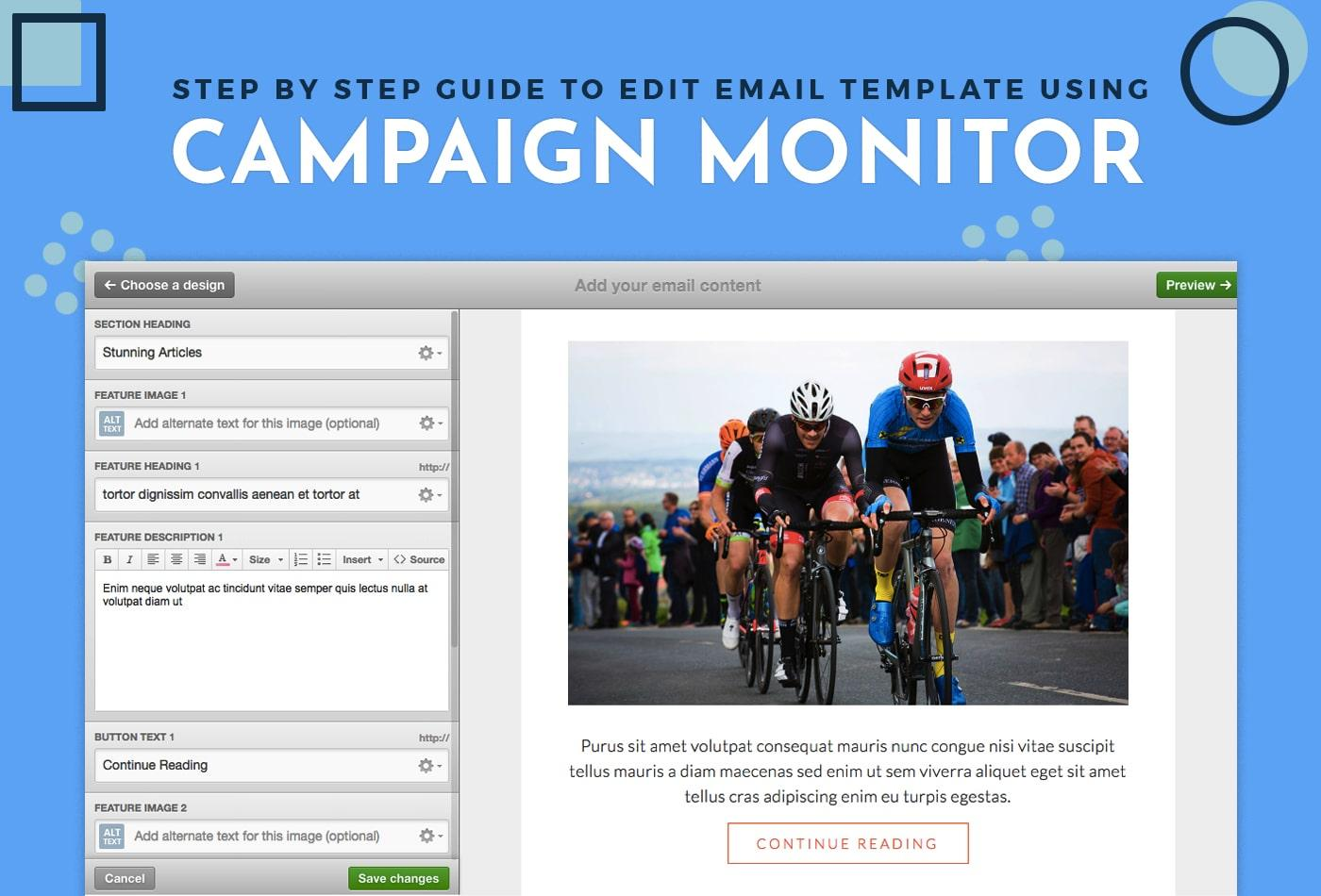 Creating Templates In Campaign Monitor