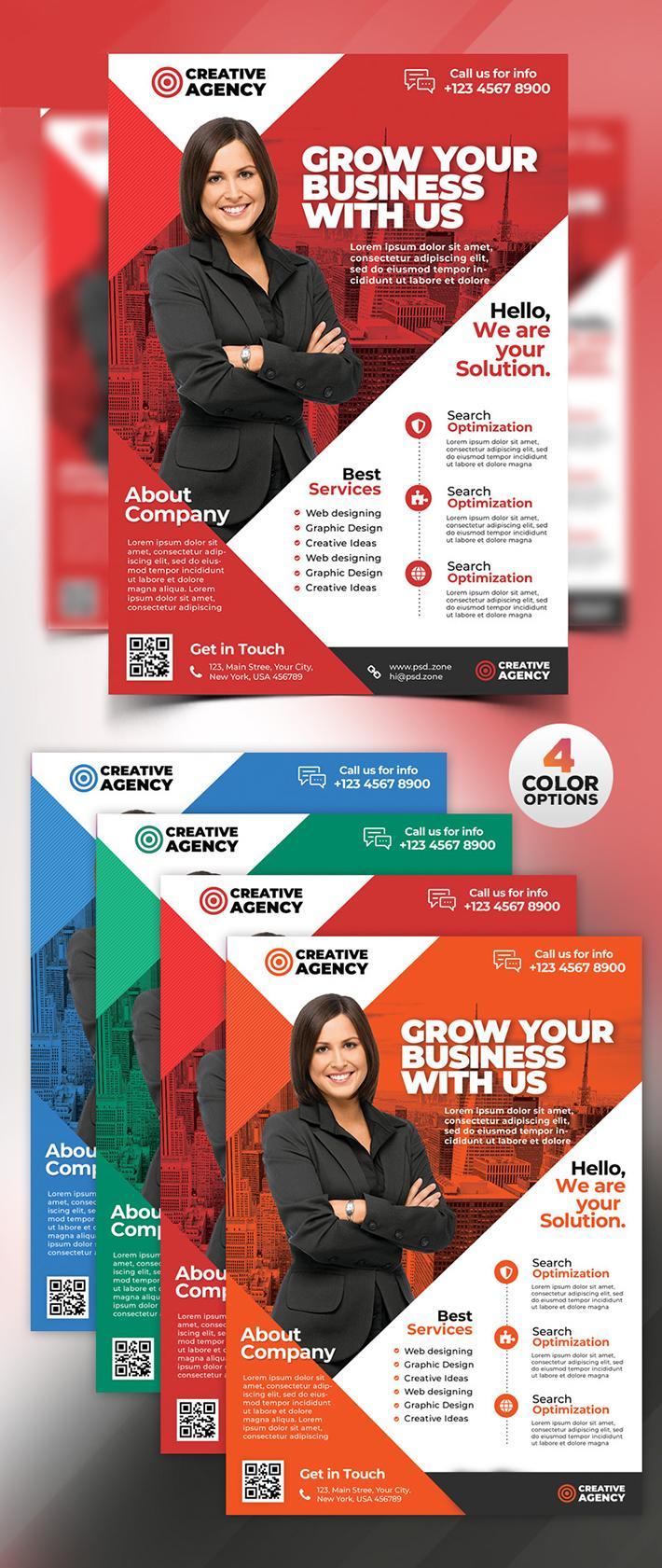 Creative Flyer Design Templates Free
