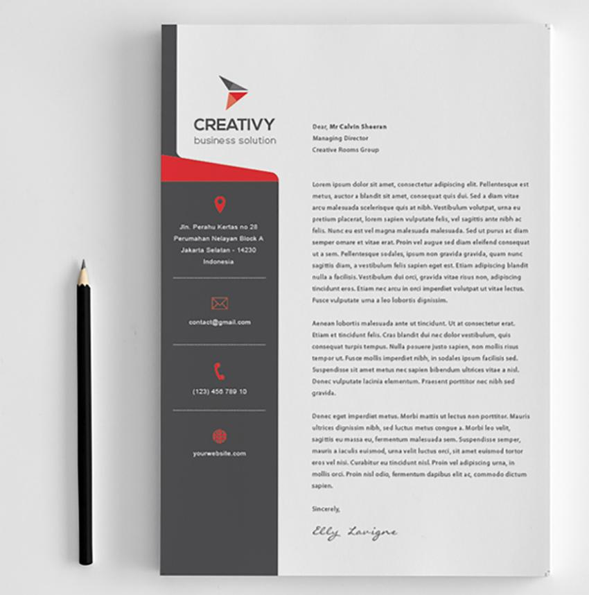 Creative Letterhead Templates