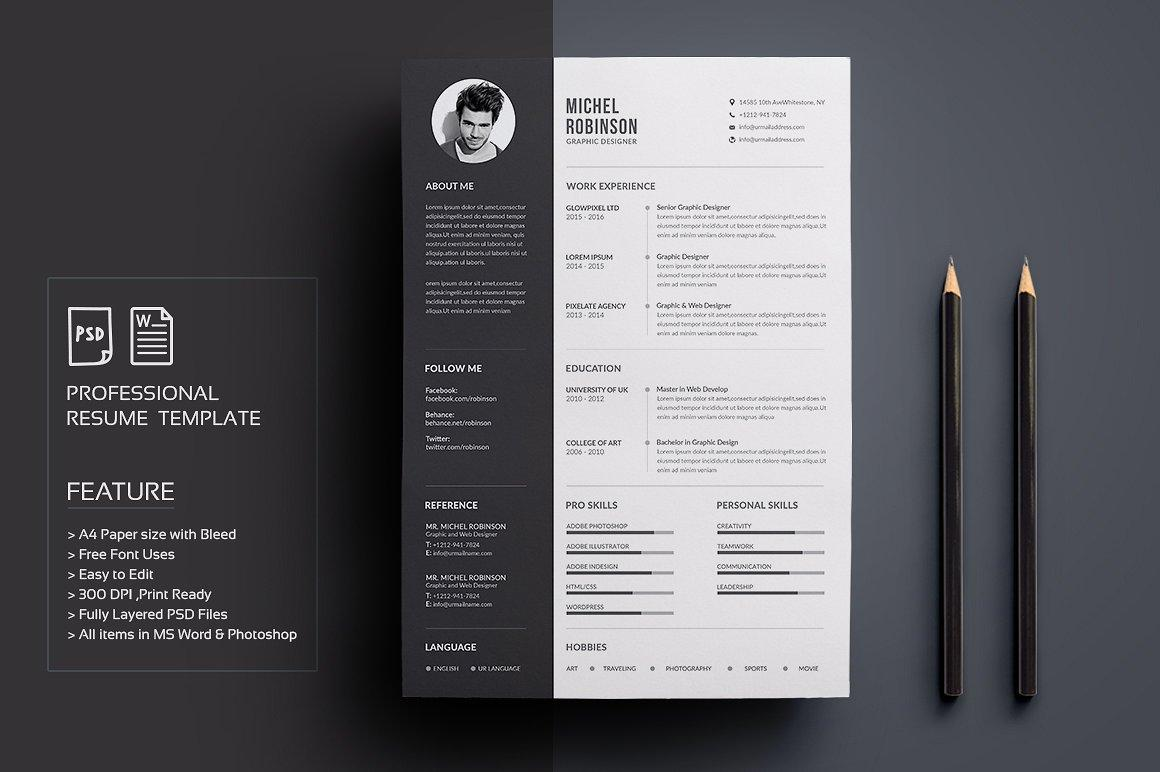 Creative Resume Templates For Engineers