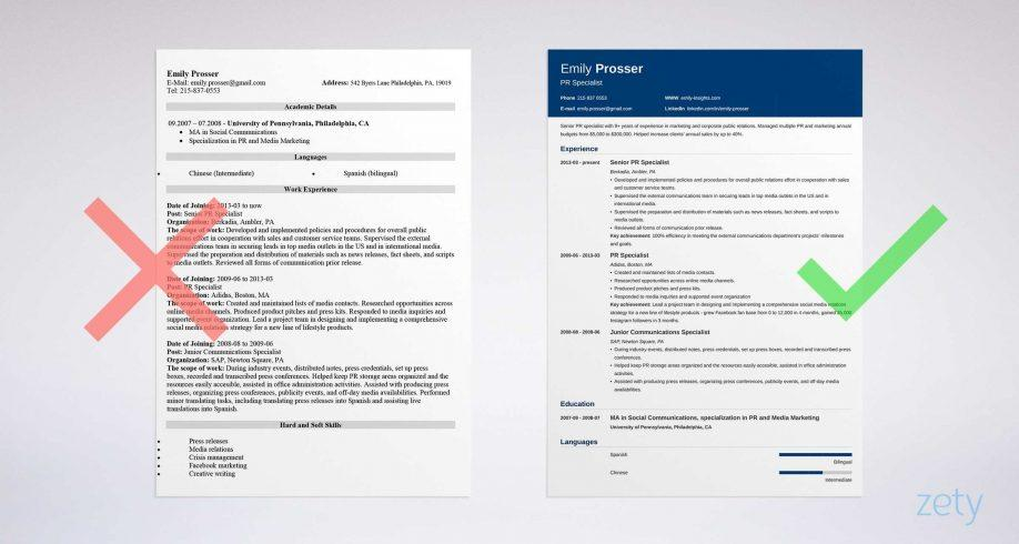 Creative Resume Templates For Freshers