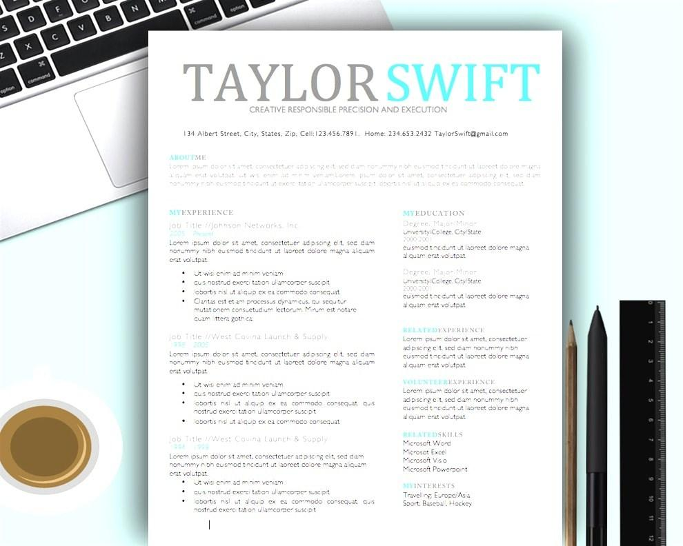Creative Resume Templates For Mac Pages