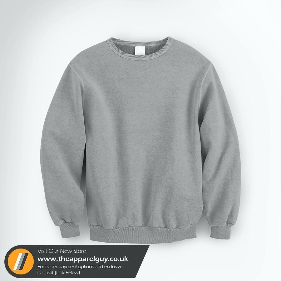 Crew Neck Sweater Template Photoshop