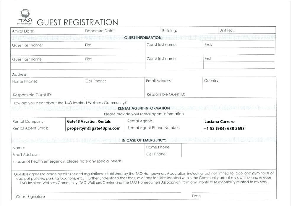Cricket Club Registration Form Template Word