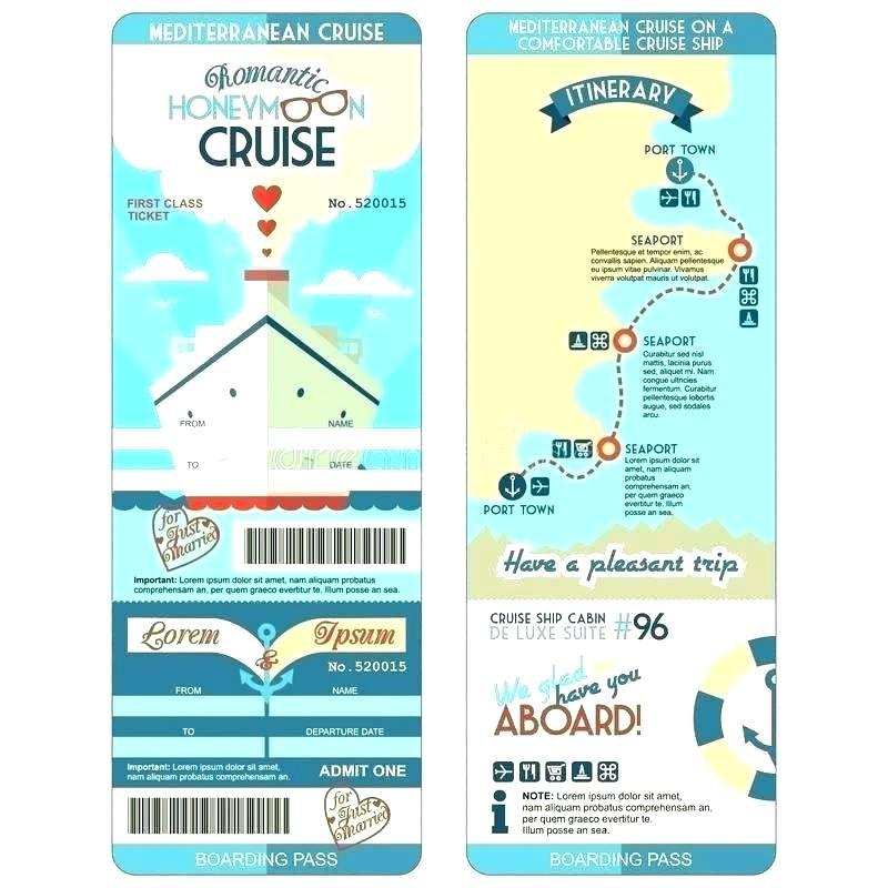 Cruise Ship Party Invitation Template