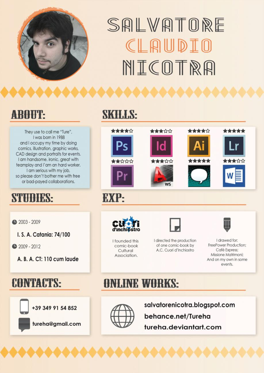 Curriculum Vitae Design Template Free Download Word
