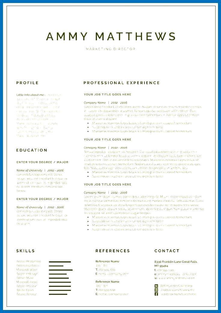 Curriculum Vitae Templates Illustrator