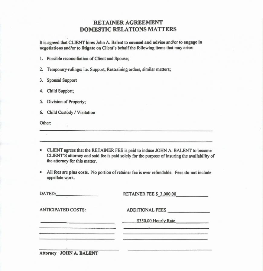 Custody Agreement Template Ny