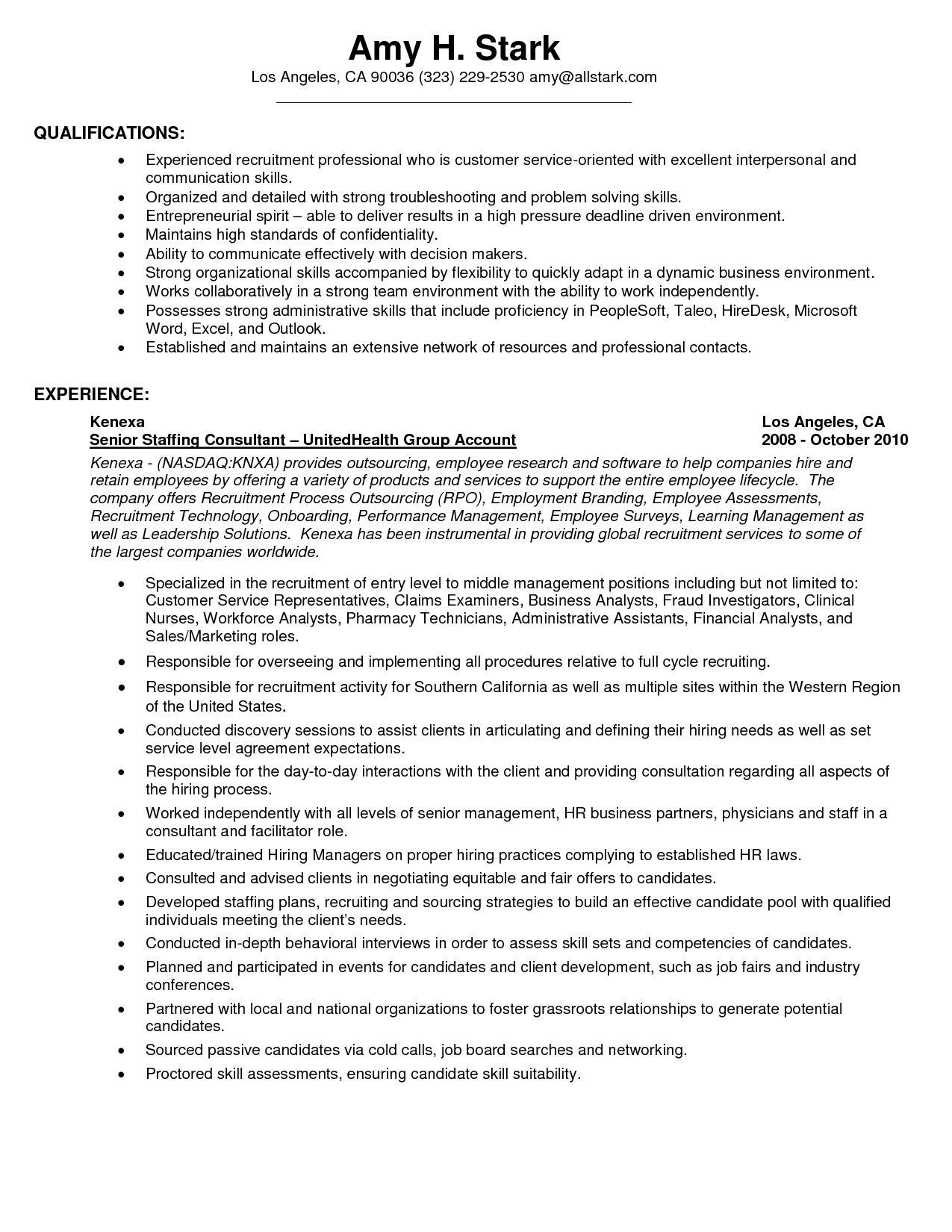 Customer Service Sample Resume Skills