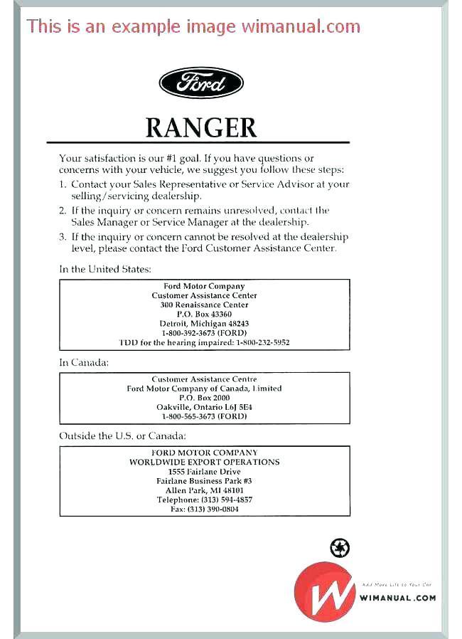 Customer Service Training Manual Sample