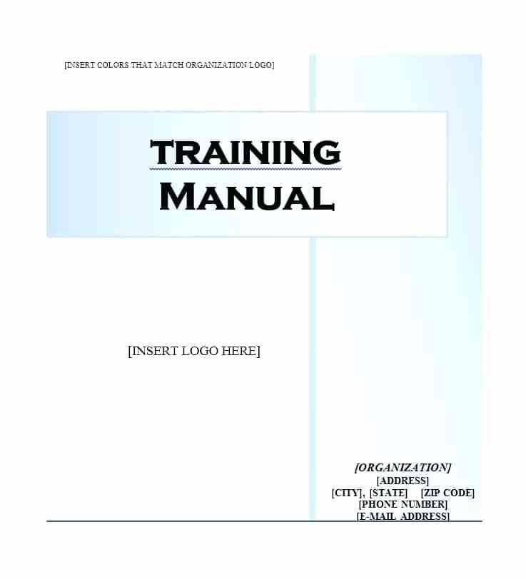 Customer Service Training Manual Template Free