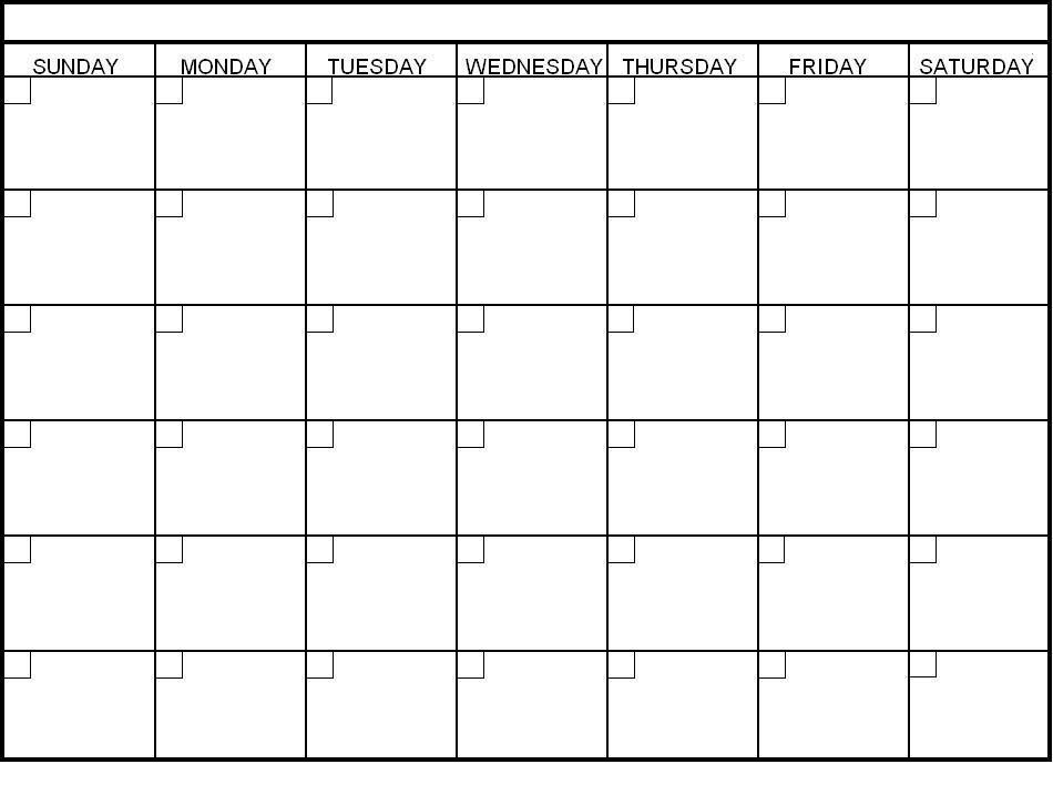 Customizable Calendar Templates