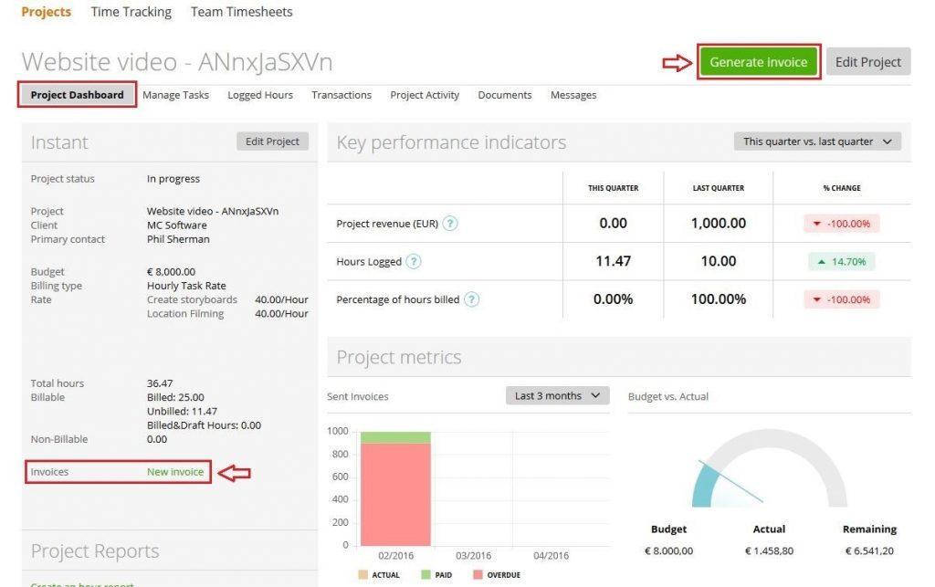 Customize Invoice Template Qbo