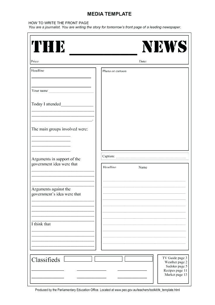 Cute Newsletter Templates For Teachers