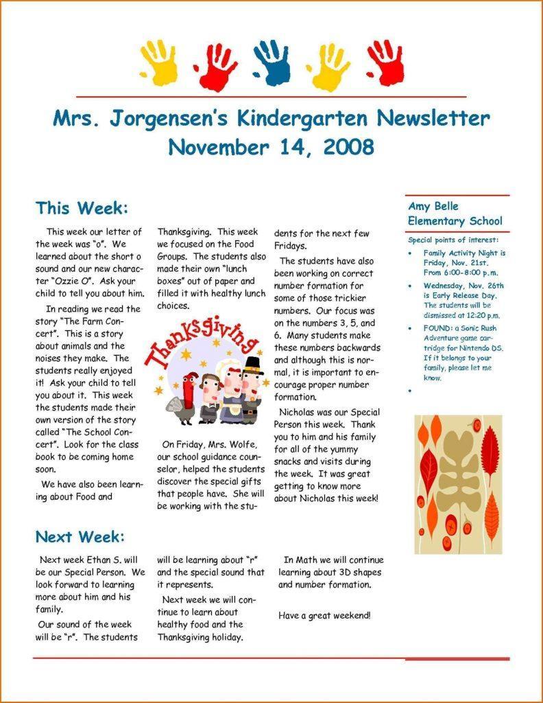 Cute Newsletter Templates