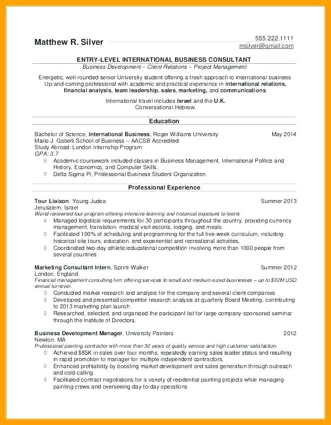 Cv Template For Medical Student