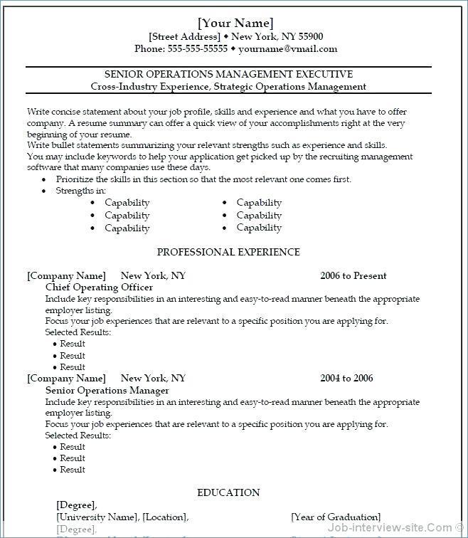 Cv Template Microsoft Word 2010 Free Download