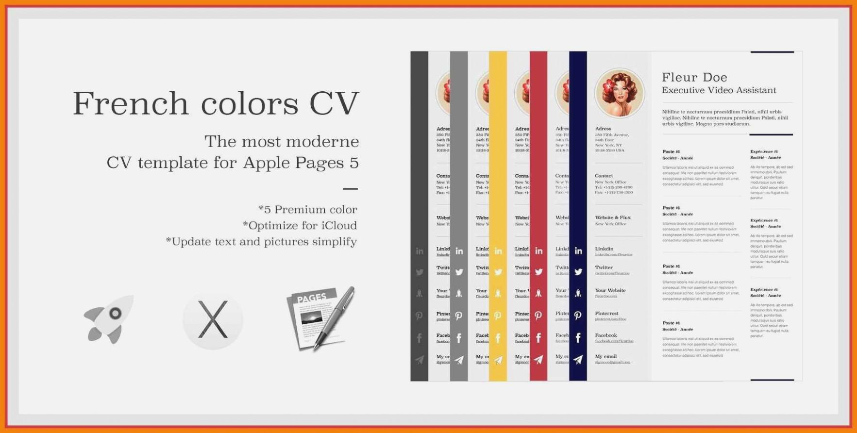 Cv Template Pages Mac