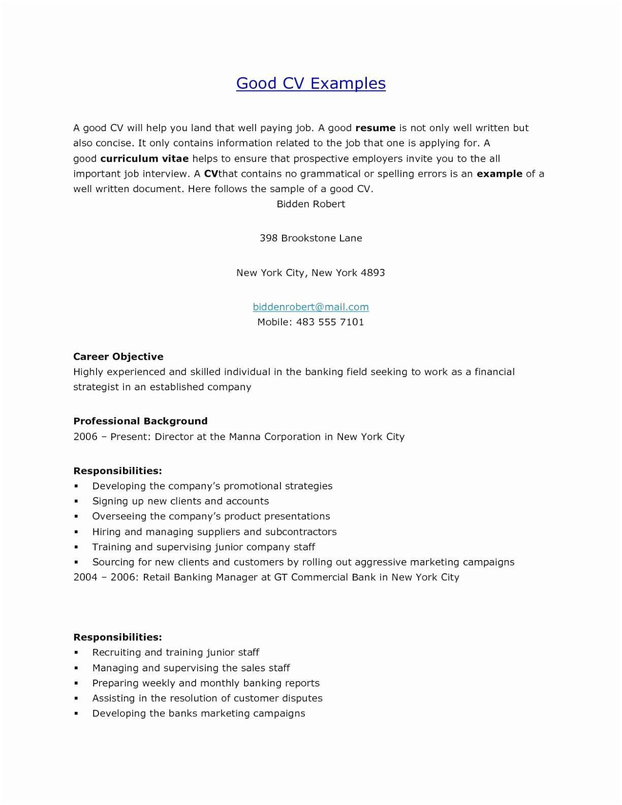 Cv Templates For Word 2010