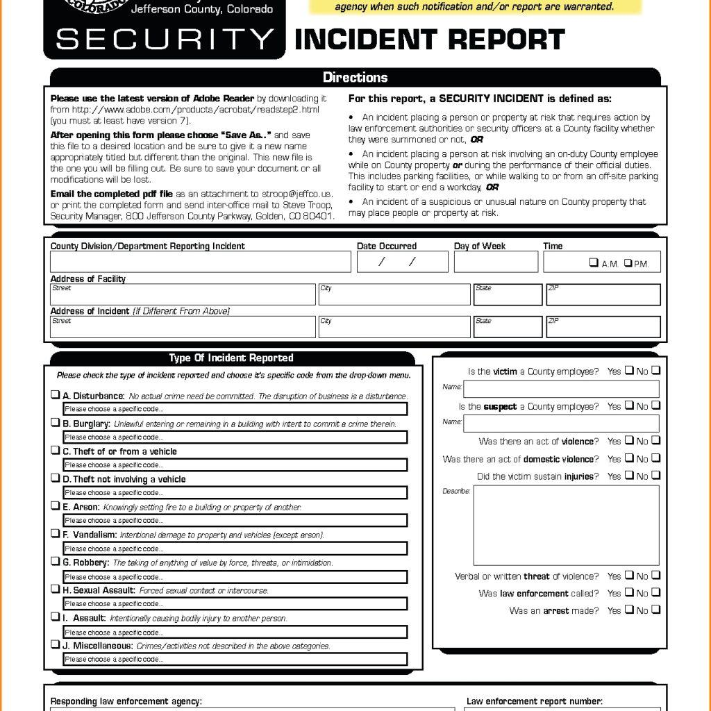 Cyber Security Incident Response Plan Example