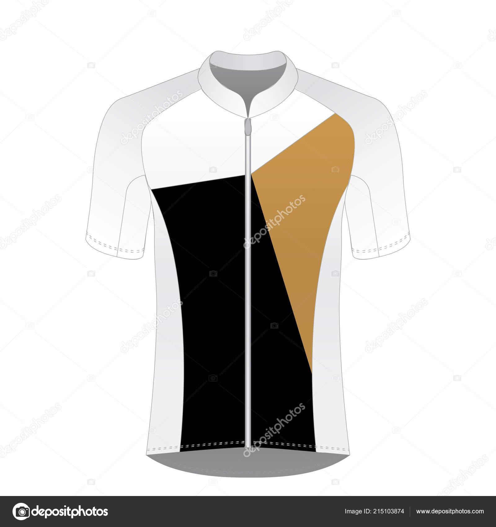 Cycling Shirt Template Vector