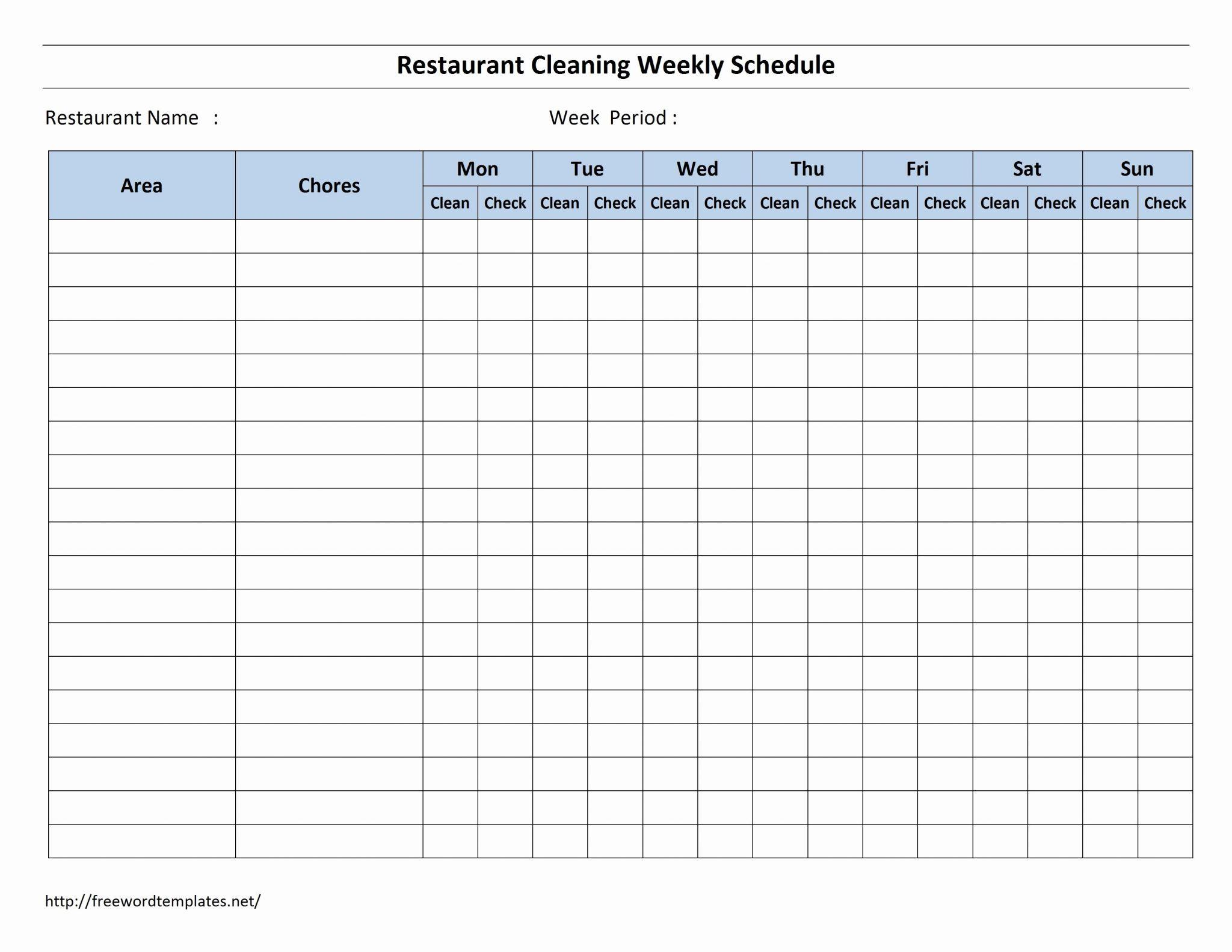 Daily Shift Schedule Template Excel