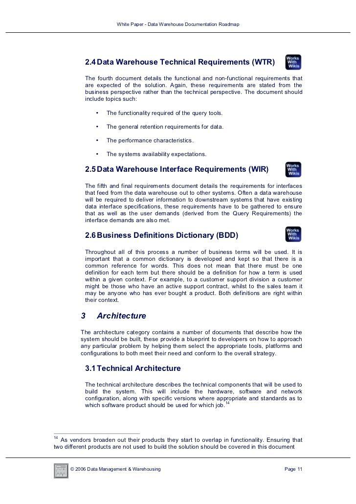 Data Warehouse Mapping Document Template