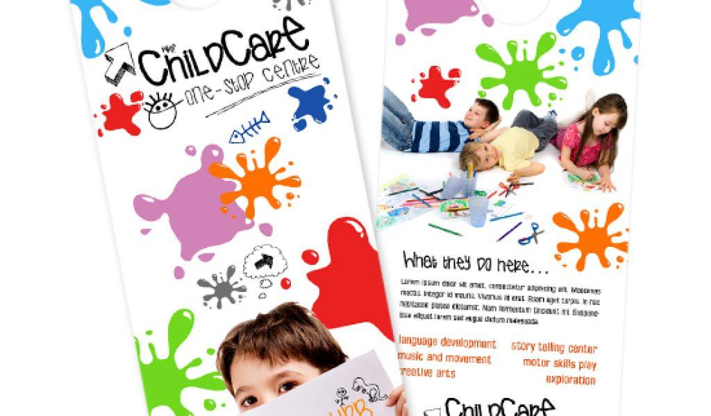 Day Care Center Flyer Templates Free