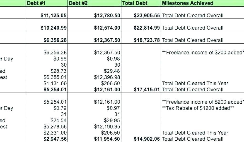 Debt Repayment Agreement Form York University