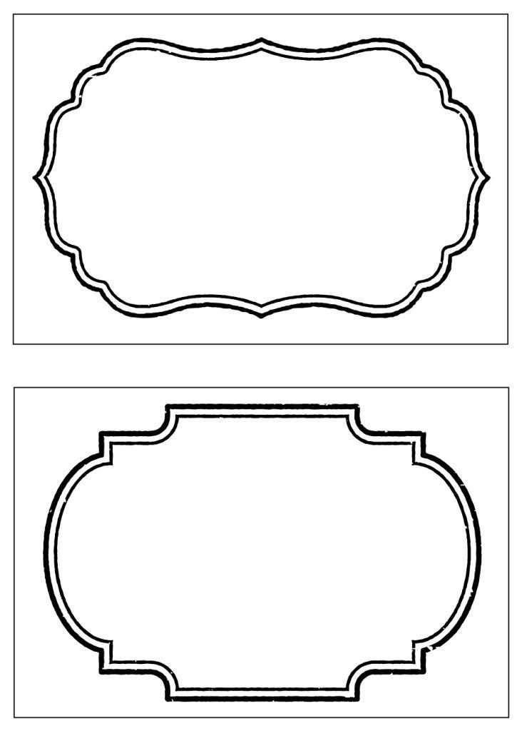 Decorative Label Templates Free