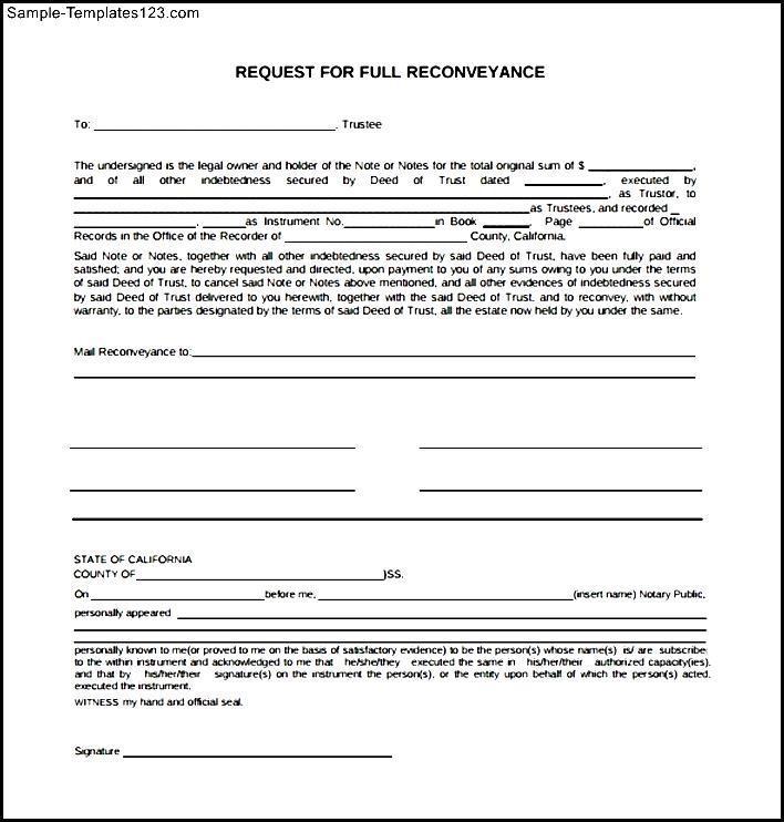 Deed Of Conveyance Sample Pdf