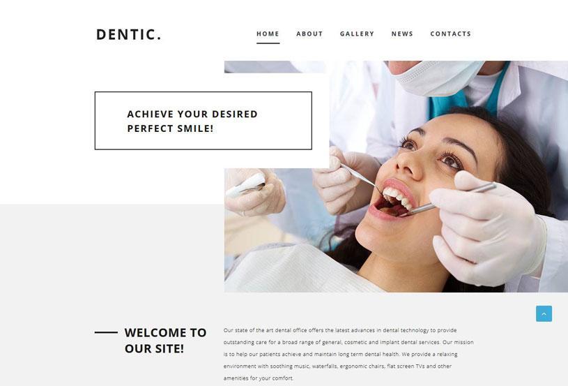 Dental Clinic Websites Templates