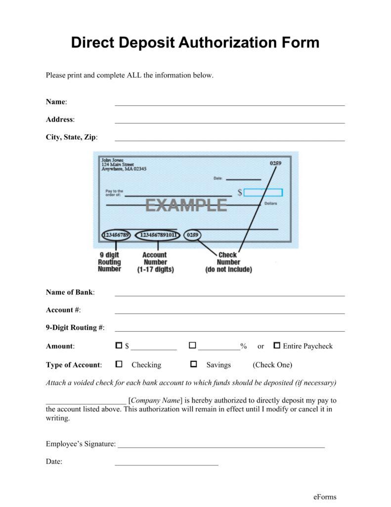Deposit Slip Template For Quickbooks